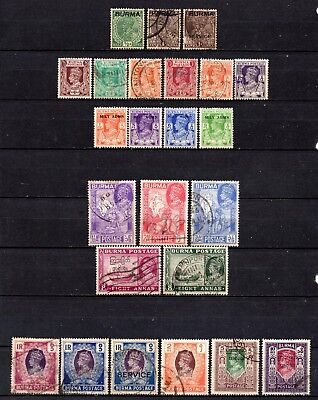 Burma very nice mixed collection ,stamps as per scan(3241)