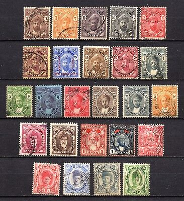 Zanzibar very nice mixed collection ,stamps as per scan(3245)
