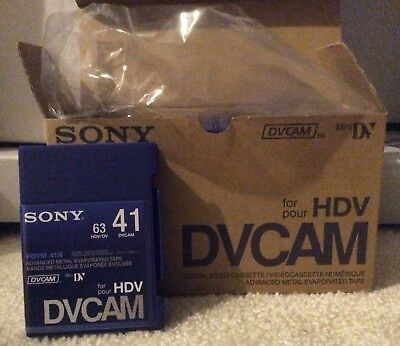 NEW Sony PDVM-40N 40min Mini DVCAM Digital Video Tapes - SET OF 10 SKU#914904