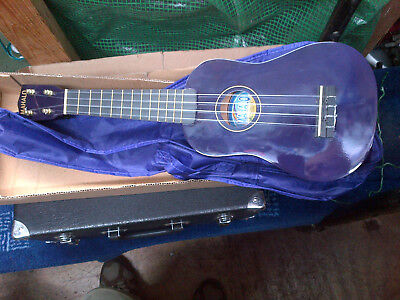 Mahalo Ukulele - Purple - Compete With Carry Case