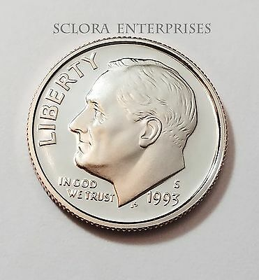 1993 S Roosevelt *proof* Dime  **free Shipping**