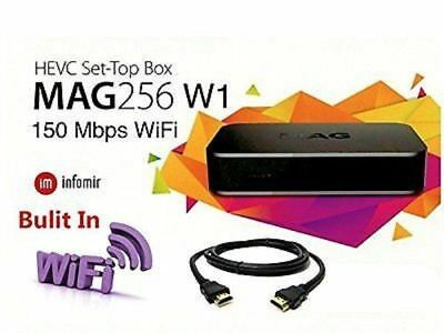 Mag 256W1 built in WiFi IPTV Set-Top-box brand new by Infomir