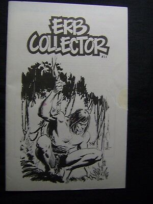 ERB COLLECTOR #11 March 1991 Fanzine EDGAR RICE BURROUGHS TARZAN, JOHN CARTER