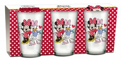 Disney Minnie Mouse Gläser 3er Set NEU