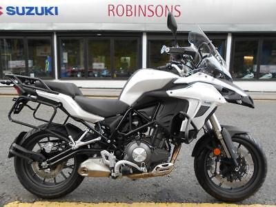 NEW FOR 2017 THE STUNNING Benelli TRK 502 adventure Bike 5699