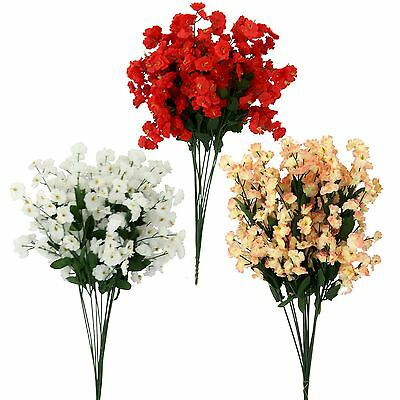 Bundle of 12 Mini Flower Sprays - Babys Breath Gypsophila Lily of the Valley