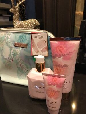 Ted Baker Treasured Treats Gift Set Includes Toiletries Bag