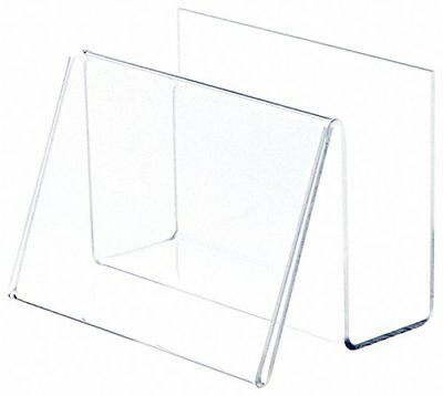 "Plymor Brand Deluxe Clear Acrylic Post Card Holder & Display, 6"" W x 4.25"" D x H"