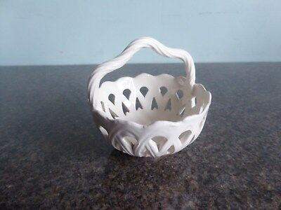 Creamware - Small Pierced Basket