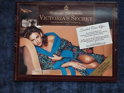 1990 Victoria's Secret Winter Gift Collection Catalog