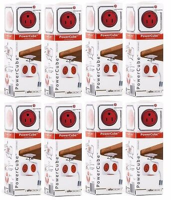 (8 Pack) PowerCube Extended - 5 Outlet 5ft Extension cord (OVERSTOCK CLEARANCE)