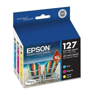 Epson America - T127520 - Color Multi Pack DURABrite 1