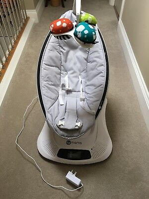 Boxed 4moms Mamaroo 4.0 Classic Grey -Excellent Condition