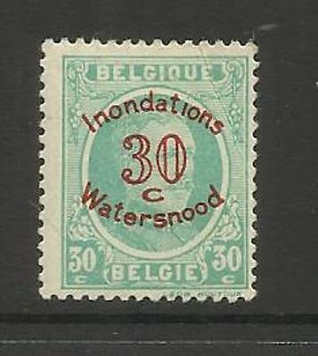 BELGIUM BELGIQUE BELGIE ~ 1926 FLOOD RELIEF 30c+30c MINT MH