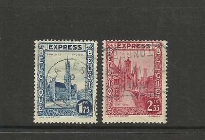 Belgium Belgie-Belgique ~   1929 Express Post -  Used