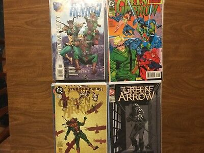Green Arrow 1-137 Not Complete Mike Grell Death Of Oliver Queen Arrow WB TV 1988