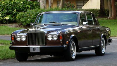 1979 Rolls-Royce Silver Shadow SEE FULL DESCRIPTION BELOW 1979 ROLLS ROYCE SILVER SHADOW ll PALM BEACH CAR 48000 MILES EXCELLENT IN AN OUT
