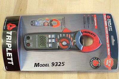 Triplett 9325 True RMS Digital Clamp-on Multi Meter Multimeter AC / DC 0-1000A