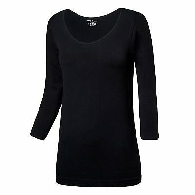 LWJ 1982 Maternity 3/4 Sleeved Nursing T Shirts Scoop Neck Top One Free Size fit