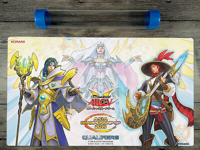 YuGiOh Burning Abyss ARC-V ACQ SP 2015 Playmat TCG Mat Free High Quality Tube