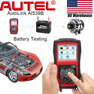 Autel AutoLink AL539B OBD2 Code Reader Diagnostic Tool Electrical Battery Tester