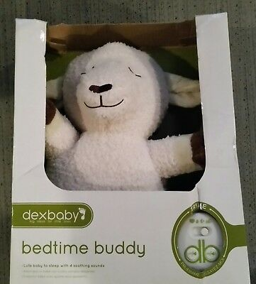 DexBaby Womb Sounds Lamb | Bedtime Buddy Sheep Soothing Sound Machine | Auto
