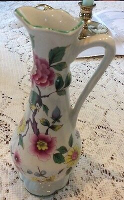 "Old Foley James Kent Chinese Rose Made In England 6"" Pitcher"