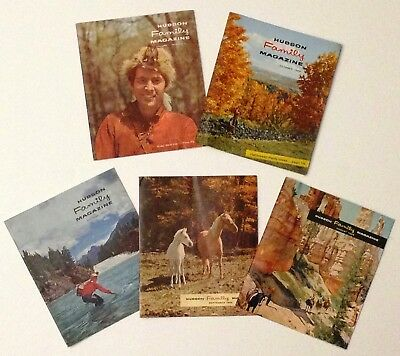 5 Issues of Hudson Family Magazine From The 50's Hudson Motor Car Company AMC