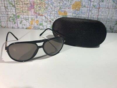 TOM FORD TF 254 01M Black Gold Sunglasses Authentic 59-13 W case ... eab0bddcb853