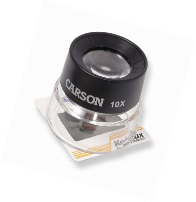 Carson LumiLoupe Series Pre-Focused Stand Magnifier Loupes (LL-10, LL-20, LL-55,