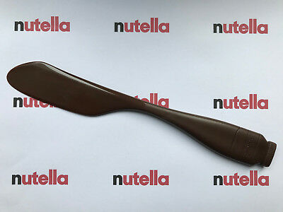 NUTELLA knife messer FERRERO hand stamped Design by Caroline Lisfranc RARE!