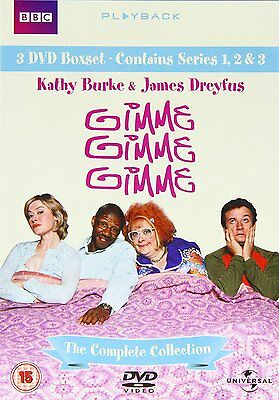 Gimme, Gimme, Gimme Complete BBC Boxset DVD Comedy Region 2 +++NEW+++