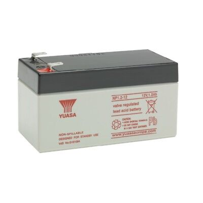 Battery biomedical lead watertight YUASA NP1.2 - 12 12v 1.2ah 97x48x54.5mm