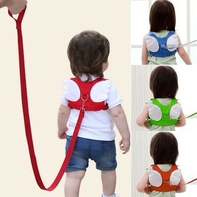 Hot Baby Kid Safety Harness Strap Toddler Walking Anti-Lost Rope Traction Rope p