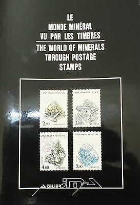 World of Minerals through Postage Stamps by J. Aytissier (Book) EA2348