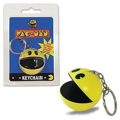 Retro Pac-Man Keychain With Sounds Brand New Great Gift