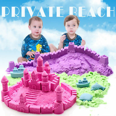 500g /bag Kinetic Sand Magic Play Craft DIY Indoor Sport Colorful Kid Child Toy
