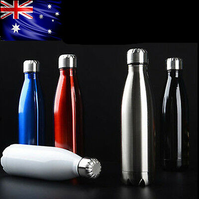 New Water Flask Thermos Stainless Steel Double Wall Vacuum Insulated Bottle