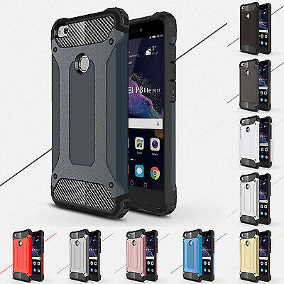 Hybrid Armor Case Shockproof Rugged Bumper Protector Case Cover For Huawei Phone