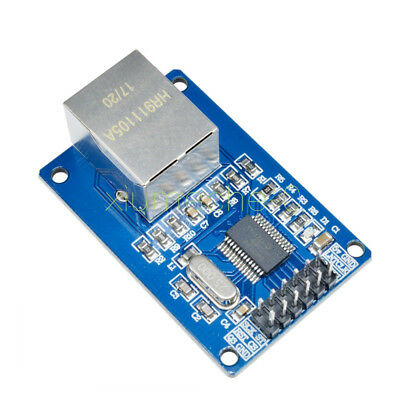 1pcs New ENC28J60 Ethernet LAN Network Module For Arduino SPI AVR PIC LPC STM32