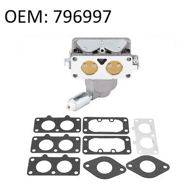 Replacement Carburetor Carb with Gasket For Briggs & Stratton Engine OEM 796997