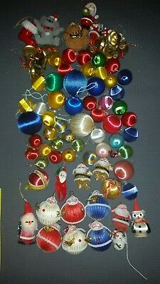 Bulk Lot Vintage Christmas Baubles Decorations Some Rare Japan Made