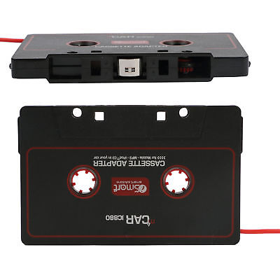 Audio AUX Car Cassette Tape Adapter Deck CD 3.5MM For iPhone iPod MP3 Android J