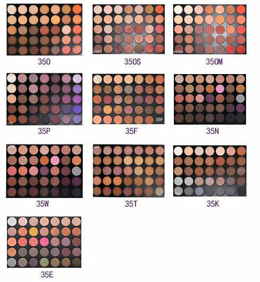 New Brand Morphe Brushes 35O 350 Eyeshadow Palette 35 Color Nature Glow 2017 Uk