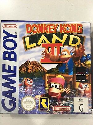 Donkey Kong Land 3 (Nintendo Game Boy, 1997)