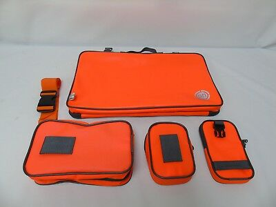 OH CLEARANCE Orange Pouch Set