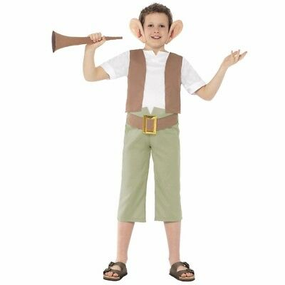 FANCY DRESS COSTUME CHILDS KIDS ROALD DAHL CHARACTER - The BFG  sc 1 st  PicClick UK & CHILDRENS OOMPA LOOMPA Costume Boys Girls Charlie Chocolate Factory ...