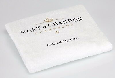 Ice Imperial Strandhandtuch im Seesack - Champagne Moet & Chandon
