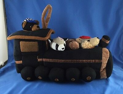 "NEW NO TAGS Unipak 13"" Baby Nursery Train Plush House Stuffed Animal Decor Toy"