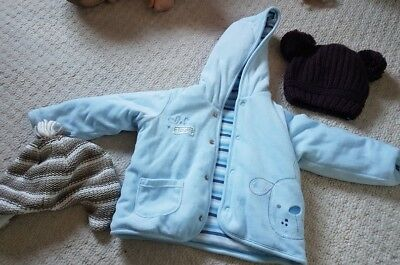 baby winter riversable jacket age 6-9 months